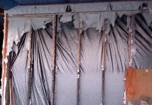 Hangar Wall